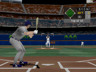 Interplay Sports Baseball 2000 ingame screenshot