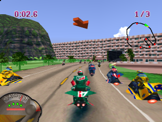 Jet Moto ingame screenshot