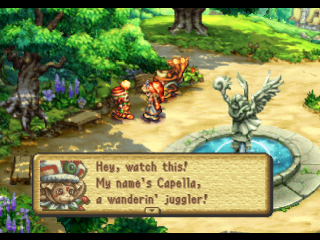 Legend of Mana ingame screenshot
