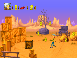 Lucky Luke ingame screenshot