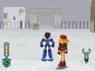 Mega Man Legends 2 ingame screenshot