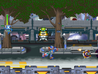 Mega Man X5 ingame screenshot