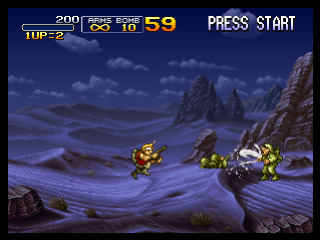 Metal Slug X ingame screenshot