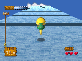 Monster Rancher Hop-A-Bout ingame screenshot