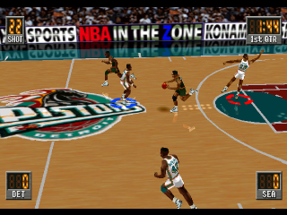NBA in the Zone 2 ingame screenshot