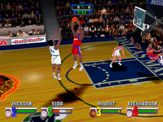 NBA Jam Extreme ingame screenshot