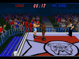 Power Move Pro Wrestling ingame screenshot