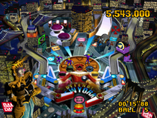 Power Rangers Zeo - Full Tilt Battle Pinball ingame screenshot