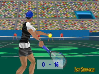 Power Serve 3D Tennis ingame screenshot