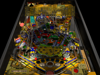 Pro Pinball - Big Race USA ingame screenshot