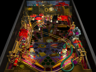 Pro Pinball - Fantastic Journey ingame screenshot