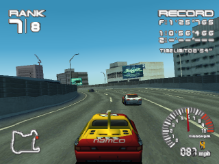 R4 - Ridge Racer Type 4 ingame screenshot