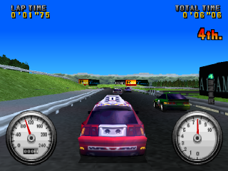 Racing ingame screenshot