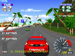 Ridge Racer Revolution ingame screenshot