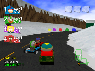 South Park Rally ingame screenshot
