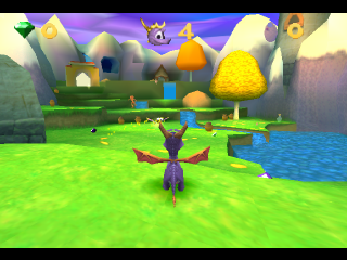 Spyro 3 - Year of the Dragon ingame screenshot