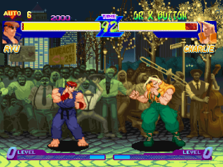 Street Fighter Alpha - Warriors' Dreams ingame screenshot