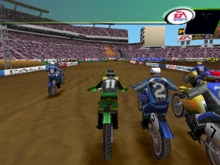 SuperCross 2000 ingame screenshot