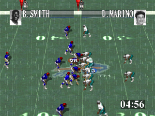 Tecmo Super Bowl ingame screenshot