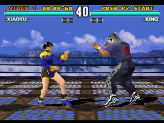 Tekken 3 ingame screenshot