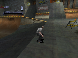 Tony Hawk's Pro Skater ingame screenshot