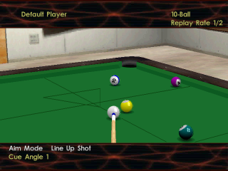 Virtual Pool 3 ingame screenshot