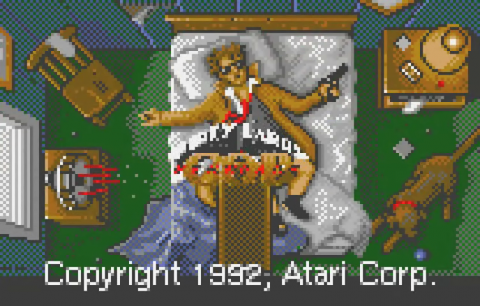 Dirty Larry - Renegade Cop title screenshot