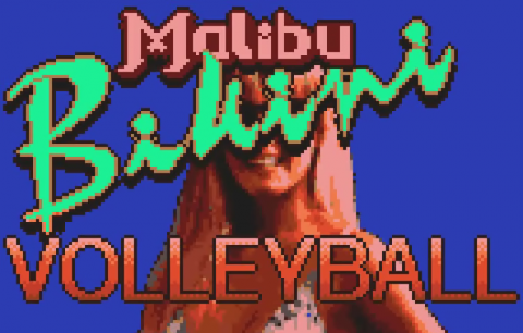Malibu Bikini Volleyball title screenshot