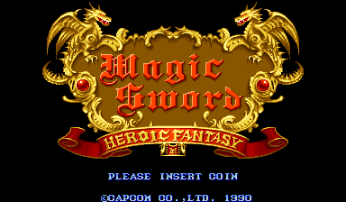 Magic Sword : Heroic Fantasy title screenshot