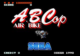 A.B. Cop title screenshot