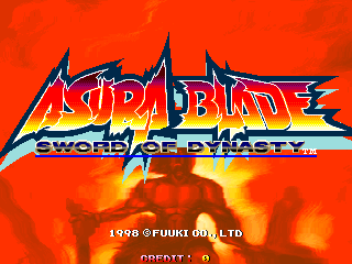 Asura Blade - Sword of Dynasty title screenshot