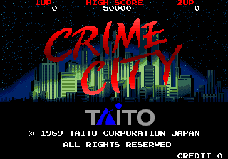 Crime City title screenshot