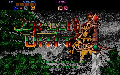 Castle of Dragon - Dragon Unit title screenshot