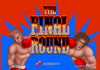 Final Round, The title screenshot