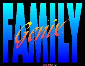 Genix Family title screenshot