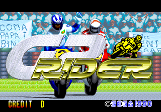 GP Rider title screenshot