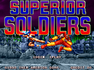 Superior Soldiers title screenshot