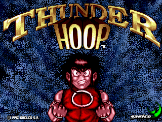 Thunder Hoop title screenshot