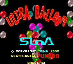 Ultra Balloon title screenshot