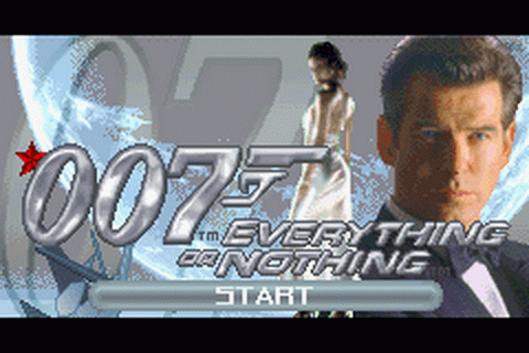 007 - Everything or Nothing title screenshot