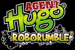 Agent Hugo - Roborumble title screenshot