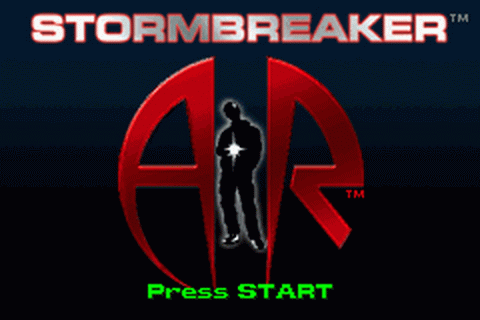 Alex Rider - Stormbreaker title screenshot