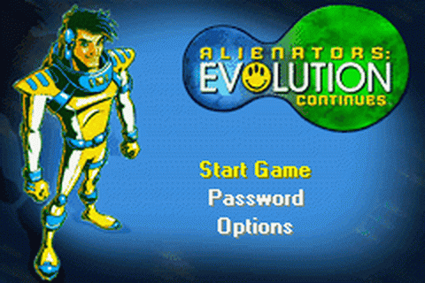 Alienators - Evolution Continues title screenshot