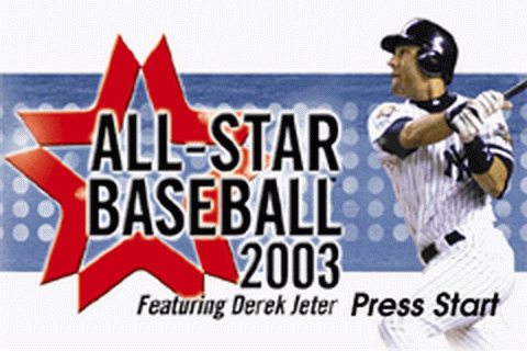 All-Star Baseball 2003 title screenshot