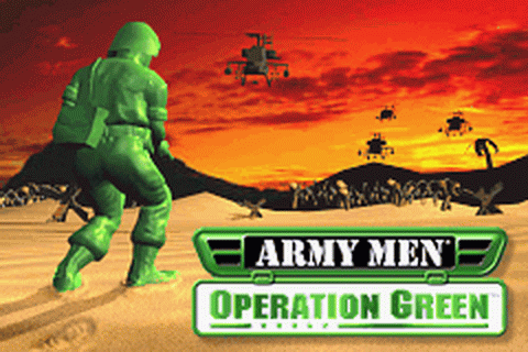 Army Men - Operation Green title screenshot