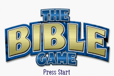 Bible Game, The title screenshot