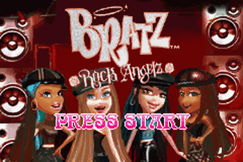 Bratz - Rock Angelz title screenshot