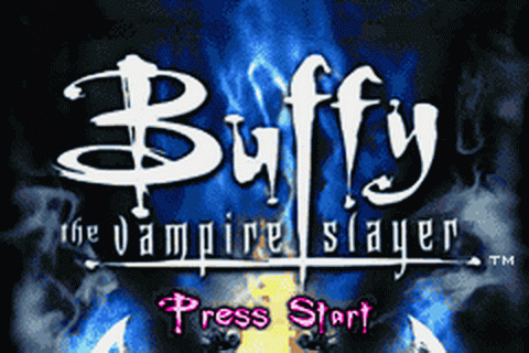 Buffy the Vampire Slayer - Wrath of the Darkhul King title screenshot