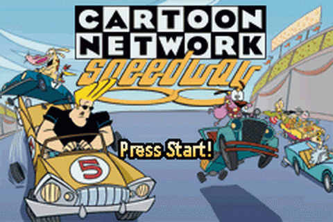 Cartoon Network Speedway title screenshot