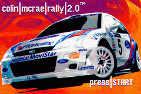 Colin McRae Rally 2.0 title screenshot